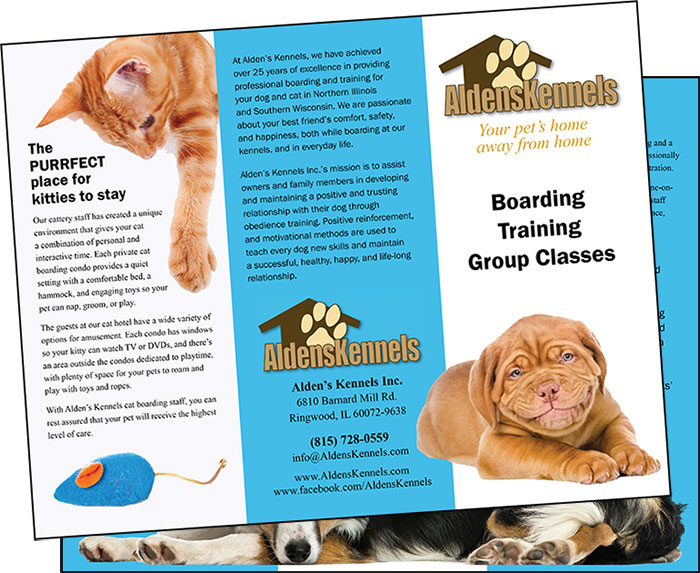 Alden Kennels Brochure
