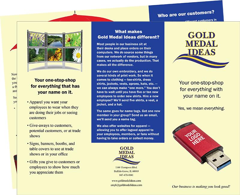 Gold Medal Ideas Brochure