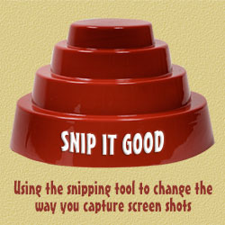 Snip It! Using the Snipping Tool