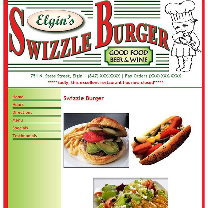 Swizzle Burger