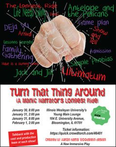Turn That Thing Around Poster Art
