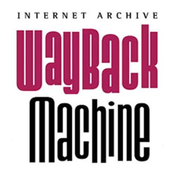 The WAY Back Machine — Internet Archives