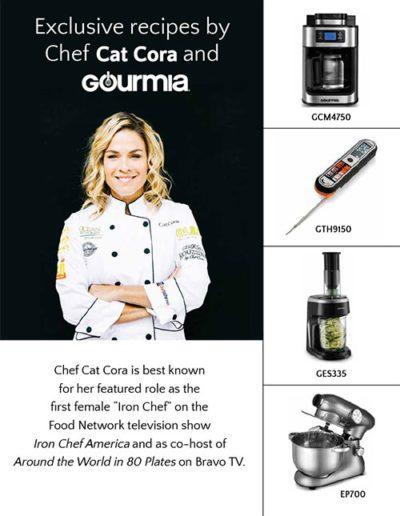 Gourmia Recipe Handout - Front Cover